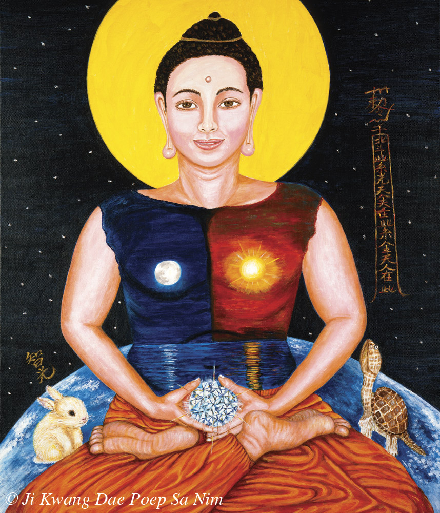 Balancing Nature Energy Buddha